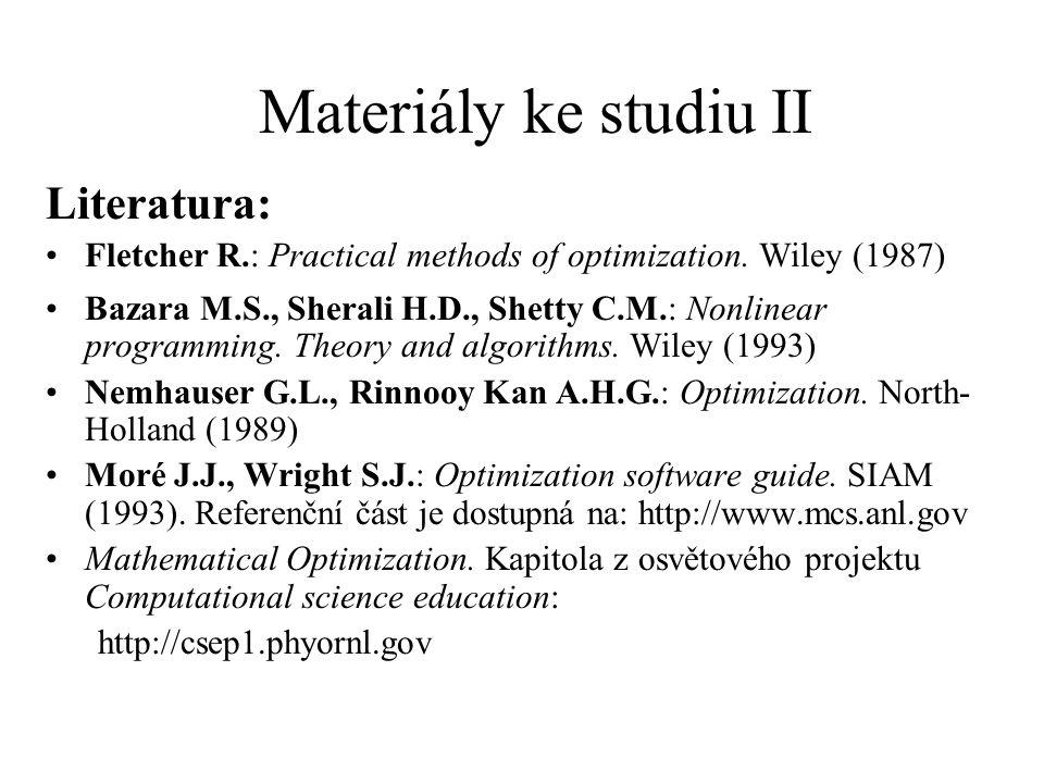 Materiály ke studiu II Literatura: