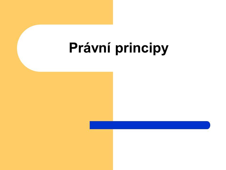 Právní principy