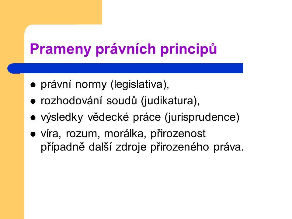 Prameny právních principů