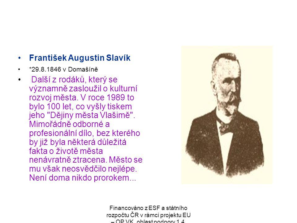 František Augustin Slavík