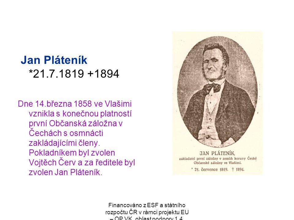 Jan Pláteník *21.7.1819 +1894