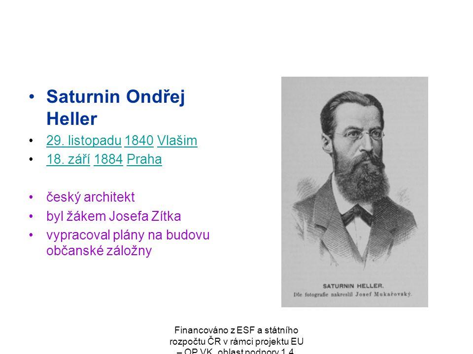 Saturnin Ondřej Heller
