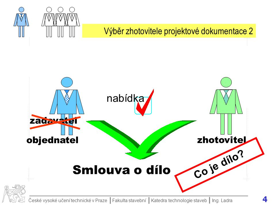Výběr zhotovitele projektové dokumentace 2