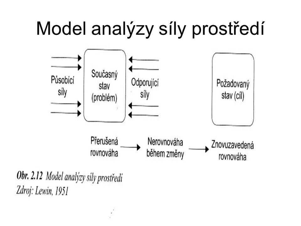 Model analýzy síly prostředí