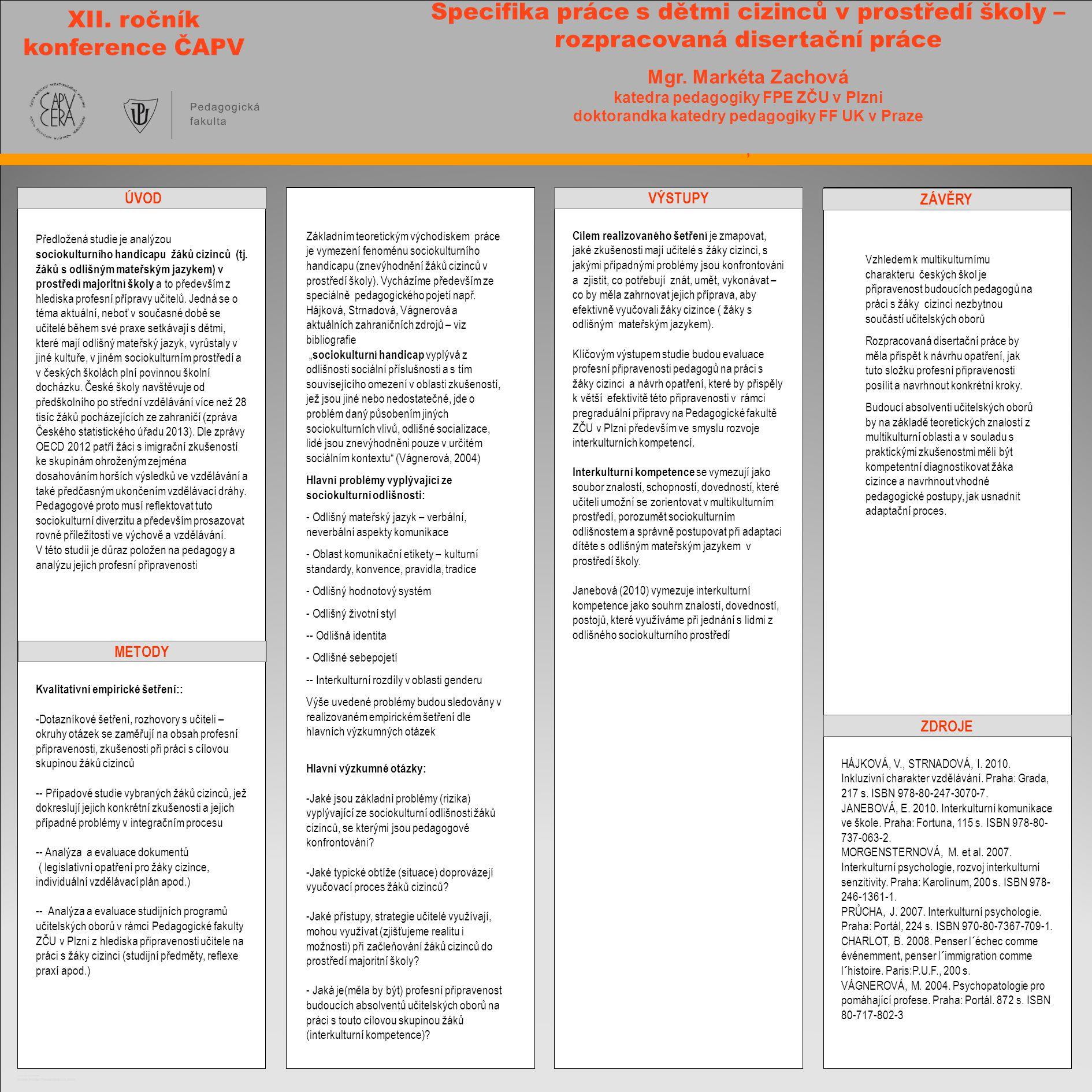 XII. ročník konference ČAPV