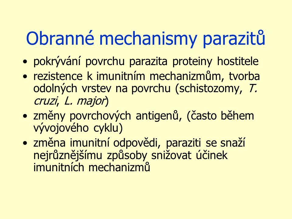 Obranné mechanismy parazitů