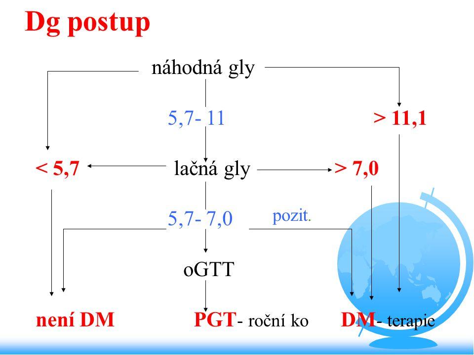 není DM PGT- roční ko DM- terapie