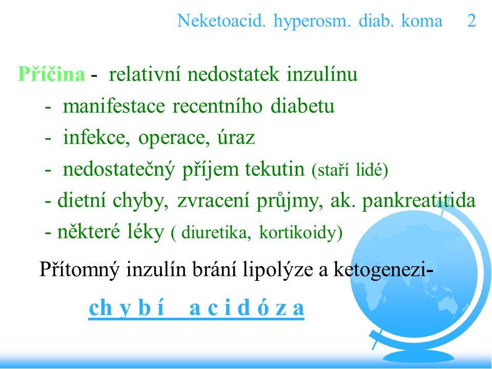 Neketoacid. hyperosm. diab. koma 2
