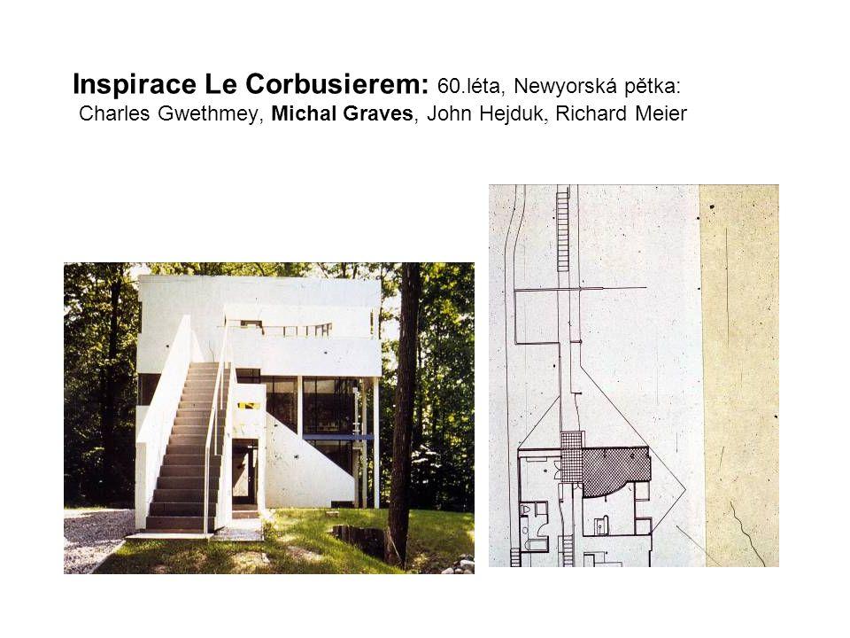 Inspirace Le Corbusierem: 60