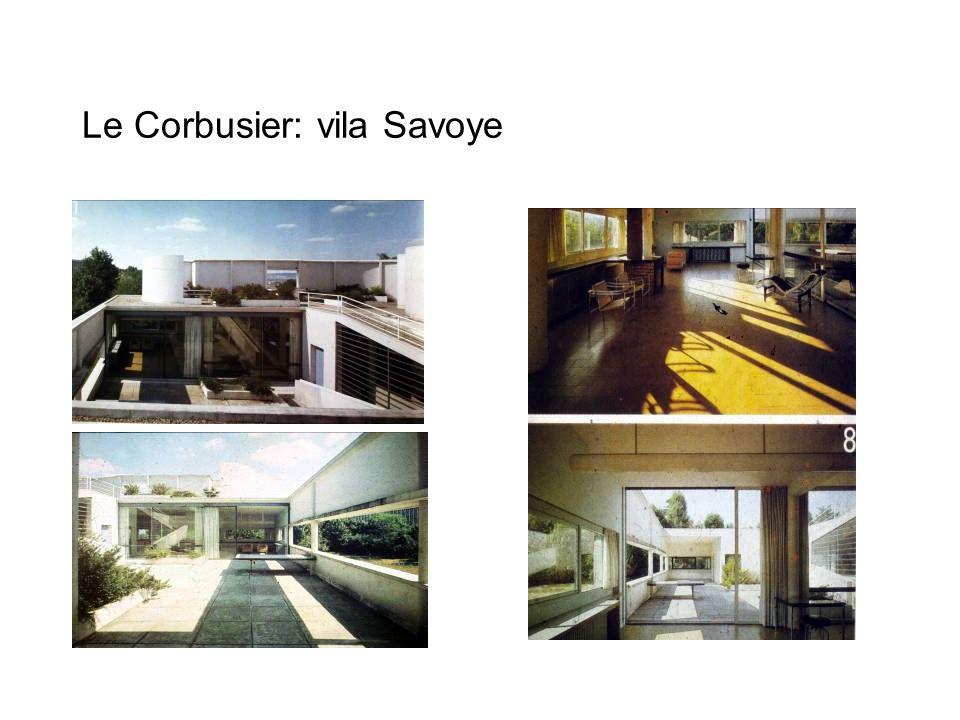 Le Corbusier: vila Savoye