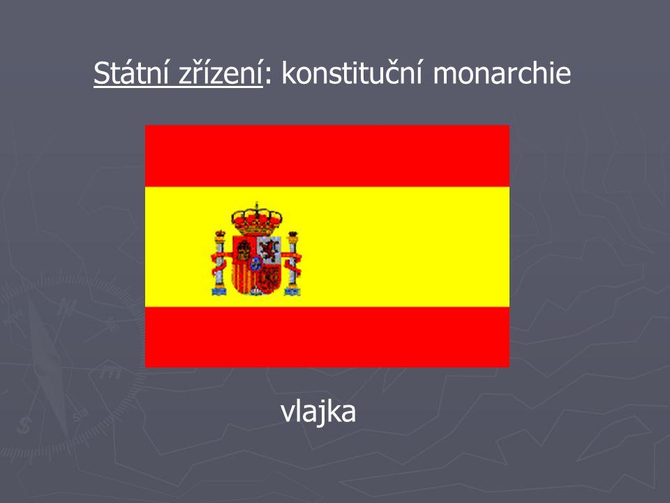 Státní zřízení: konstituční monarchie