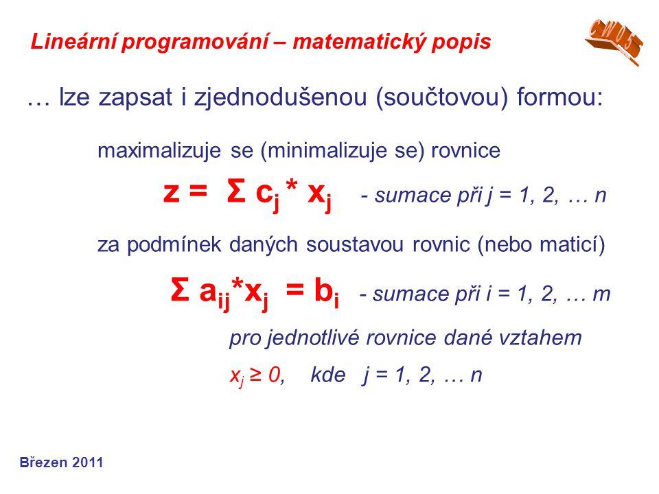 … lze zapsat i zjednodušenou (součtovou) formou: