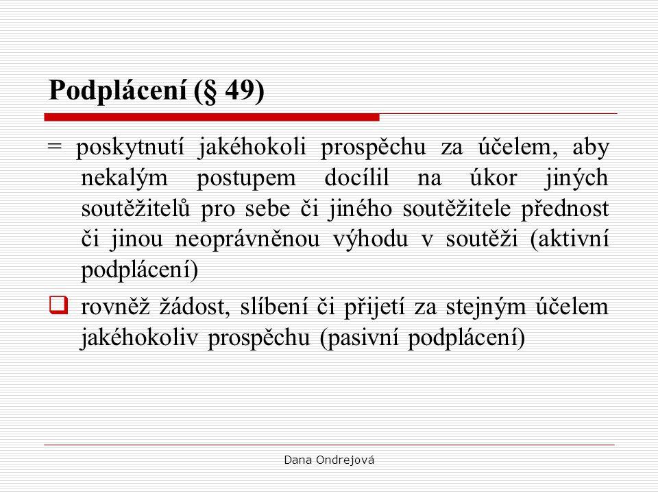 Podplácení (§ 49)