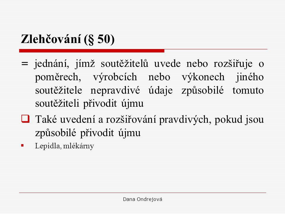 Zlehčování (§ 50)