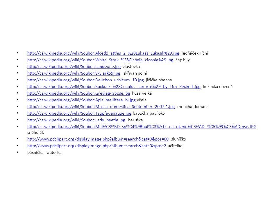 http://cs.wikipedia.org/wiki/Soubor:Alcedo_atthis_2_%28Lukasz_Lukasik%29.jpg ledňáček říční
