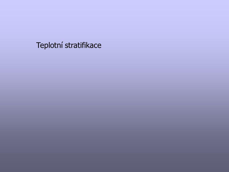 Teplotní stratifikace