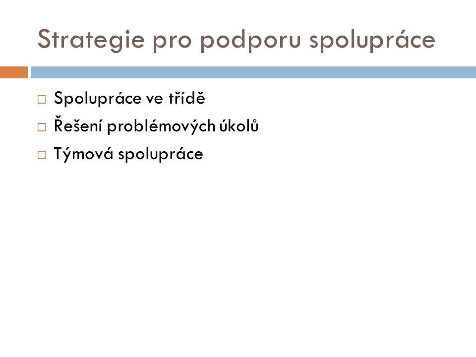 Strategie pro podporu spolupráce