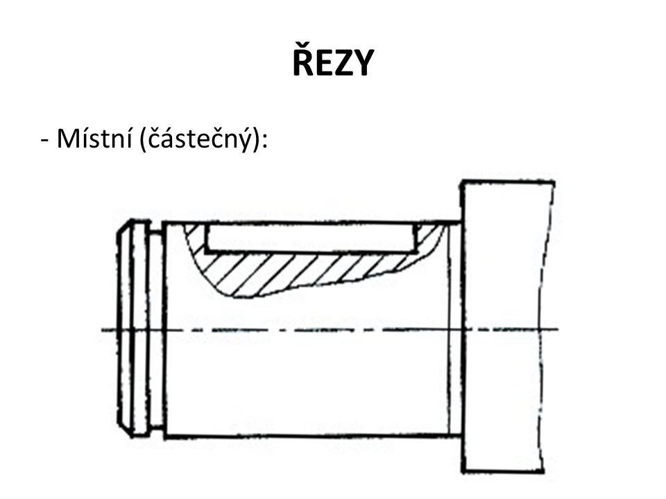 ŘEZY - Místní (částečný):