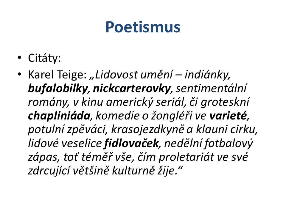 Poetismus Citáty: