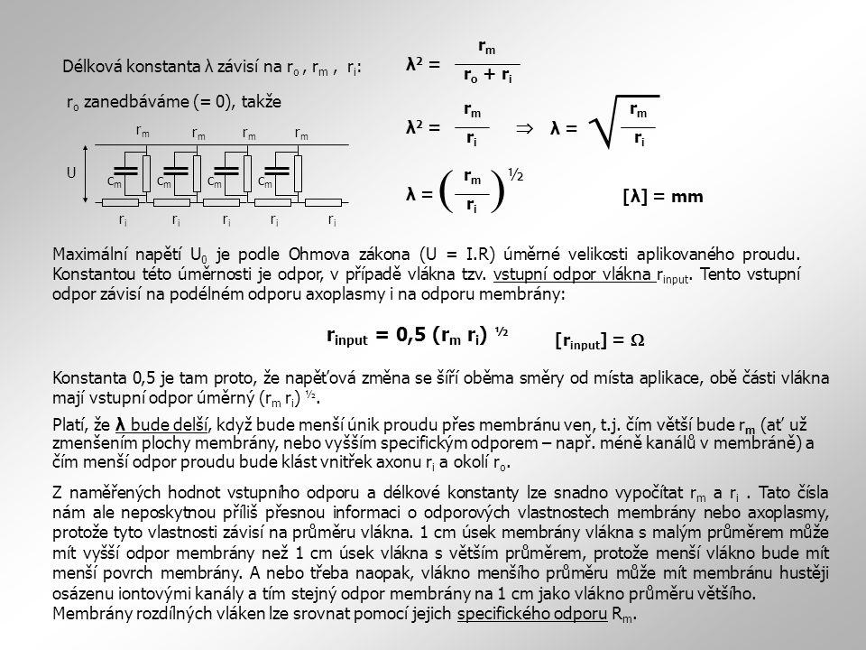  ( ) rinput = 0,5 (rm ri) ½ rm ro + ri λ2 =