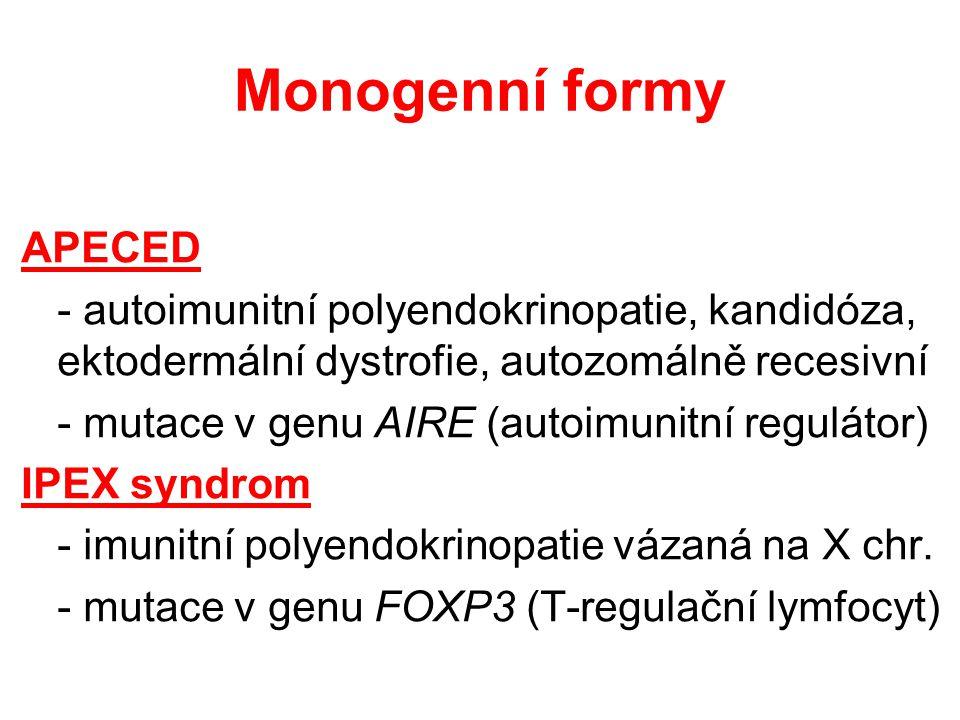 Monogenní formy APECED