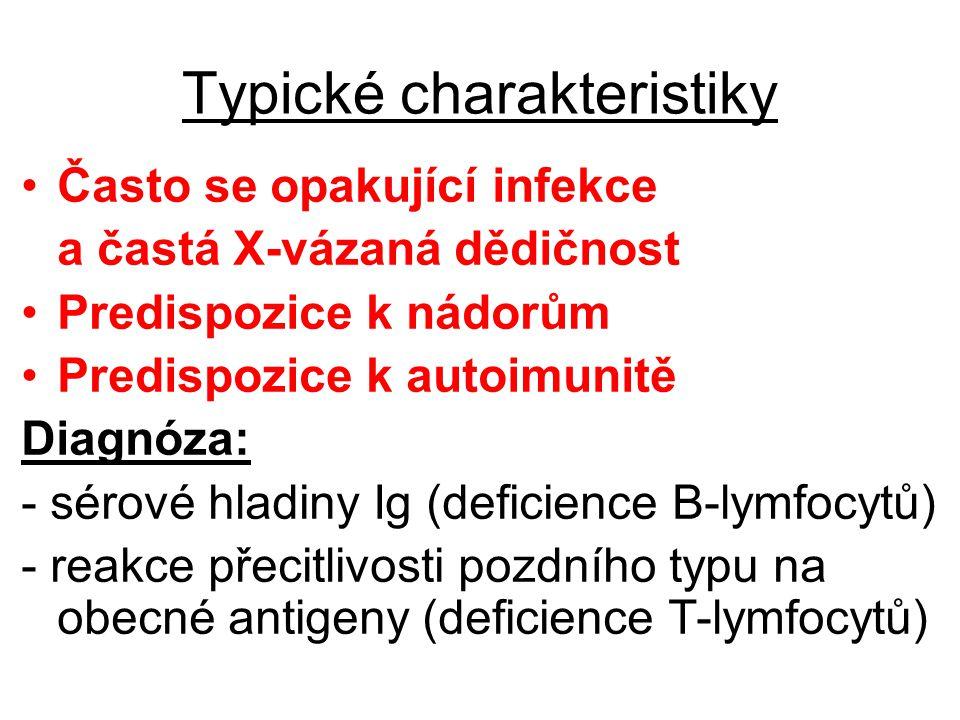 Typické charakteristiky