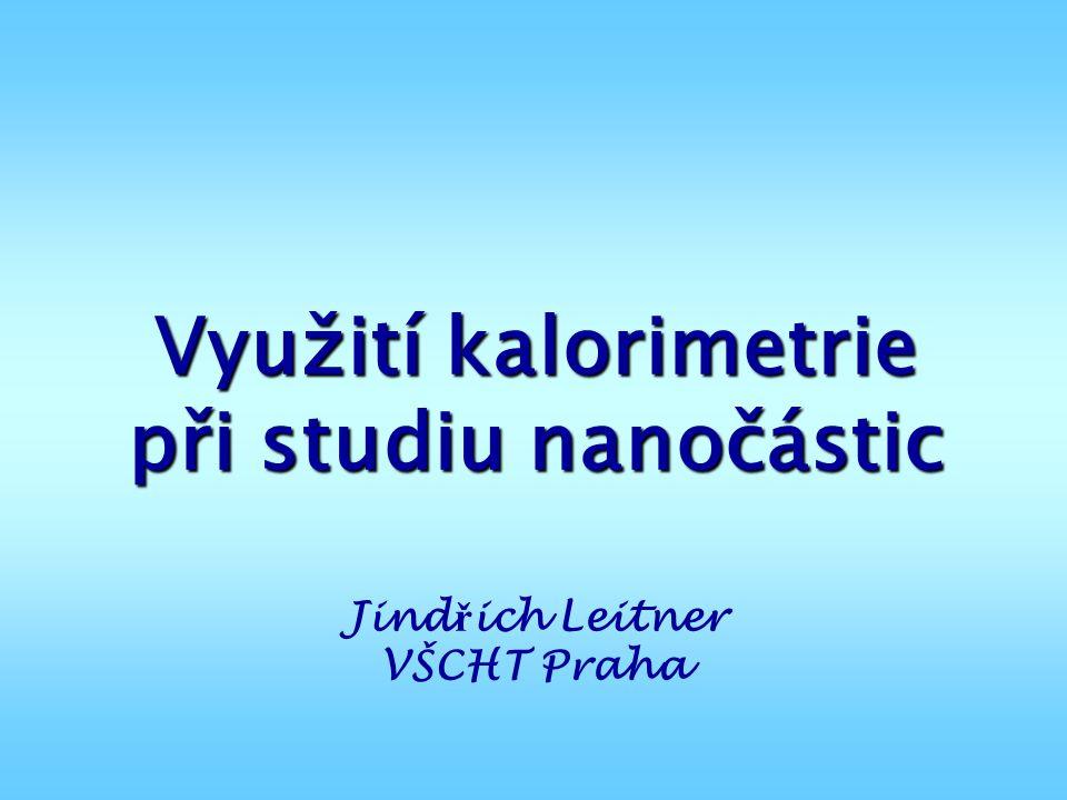 Využití kalorimetrie při studiu nanočástic