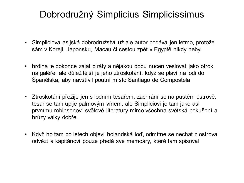 Dobrodružný Simplicius Simplicissimus