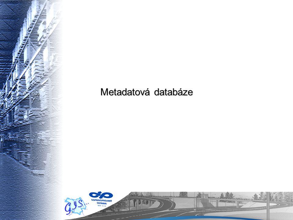 Metadatová databáze