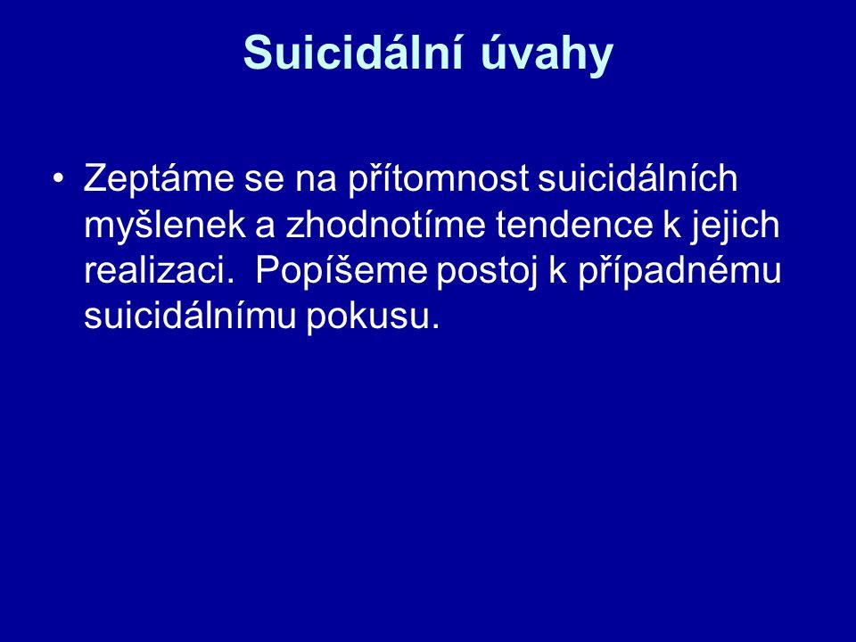 Suicidální úvahy