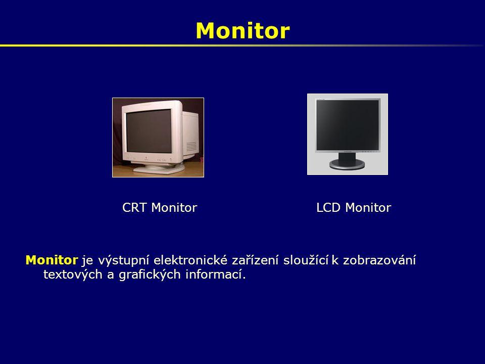 Monitor CRT Monitor LCD Monitor