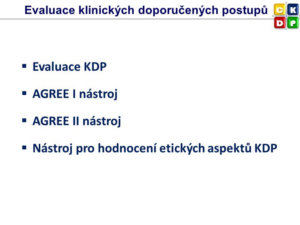 Nástroj pro hodnocení etických aspektů KDP