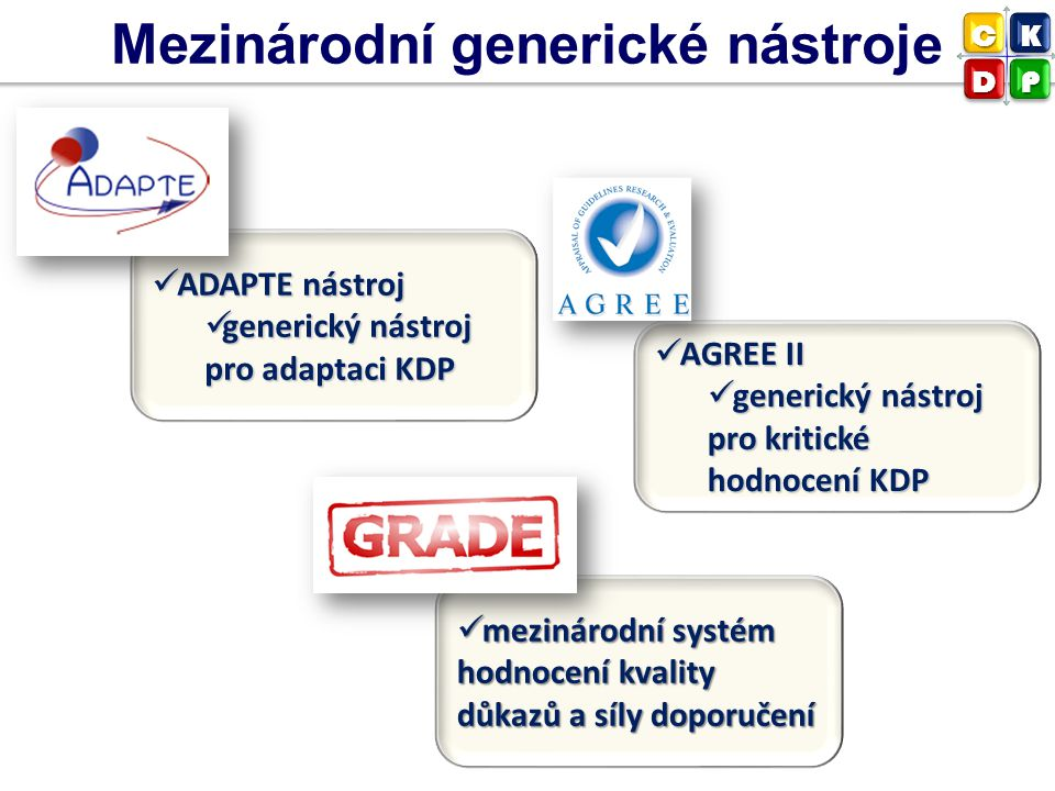 Mezinárodní generické nástroje