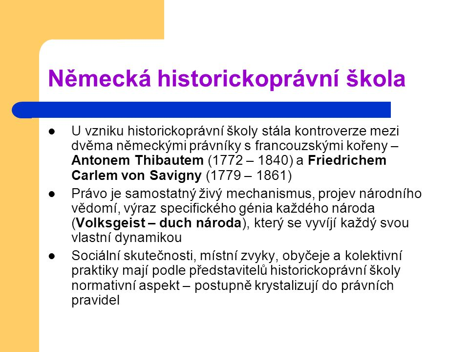 Německá historickoprávní škola