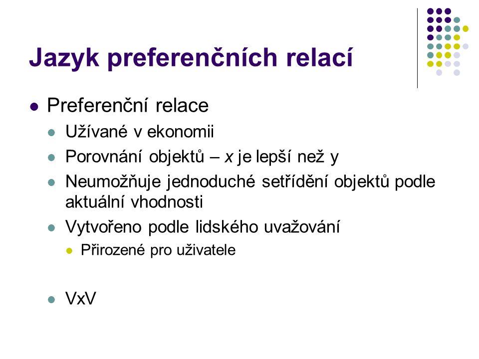 Jazyk preferenčních relací