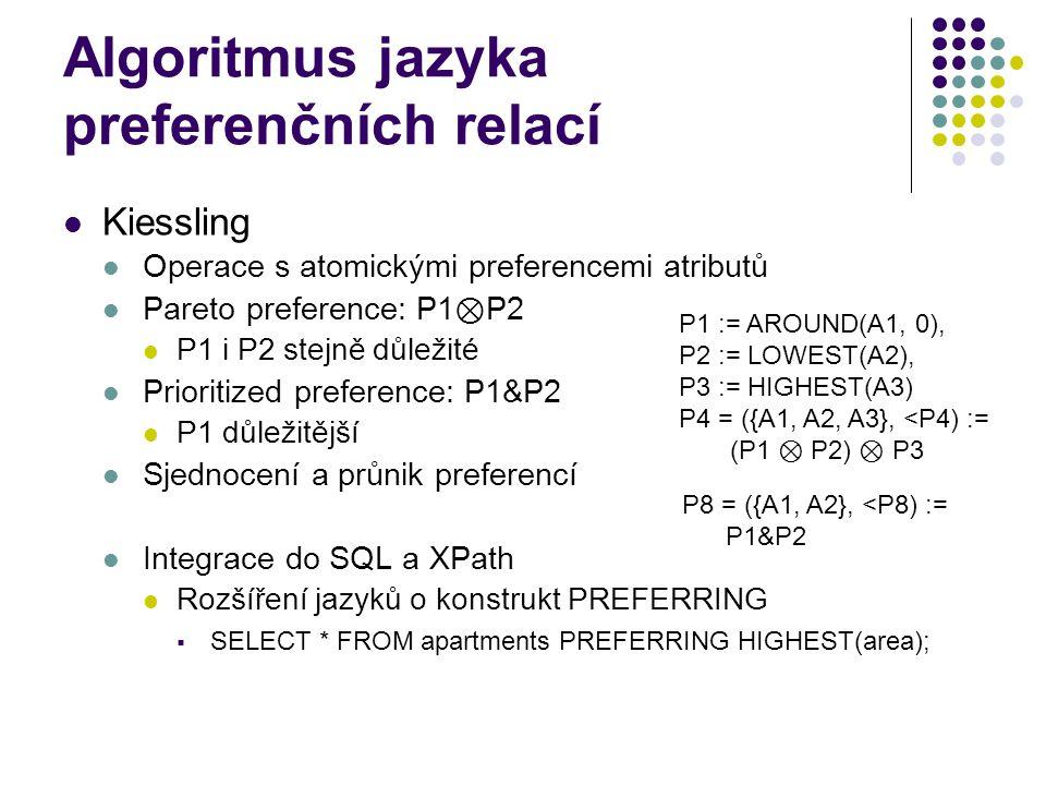 Algoritmus jazyka preferenčních relací