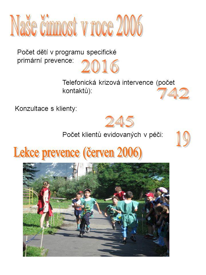 Lekce prevence (červen 2006)