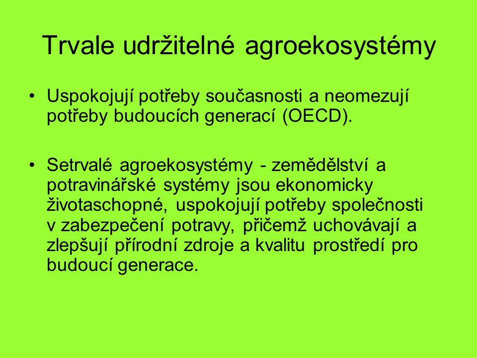 Trvale udržitelné agroekosystémy