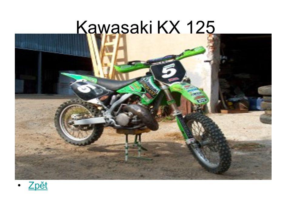 Kawasaki KX 125 Zpět