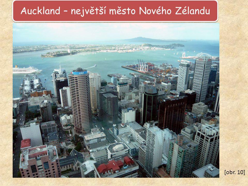 Auckland – největší město Nového Zélandu