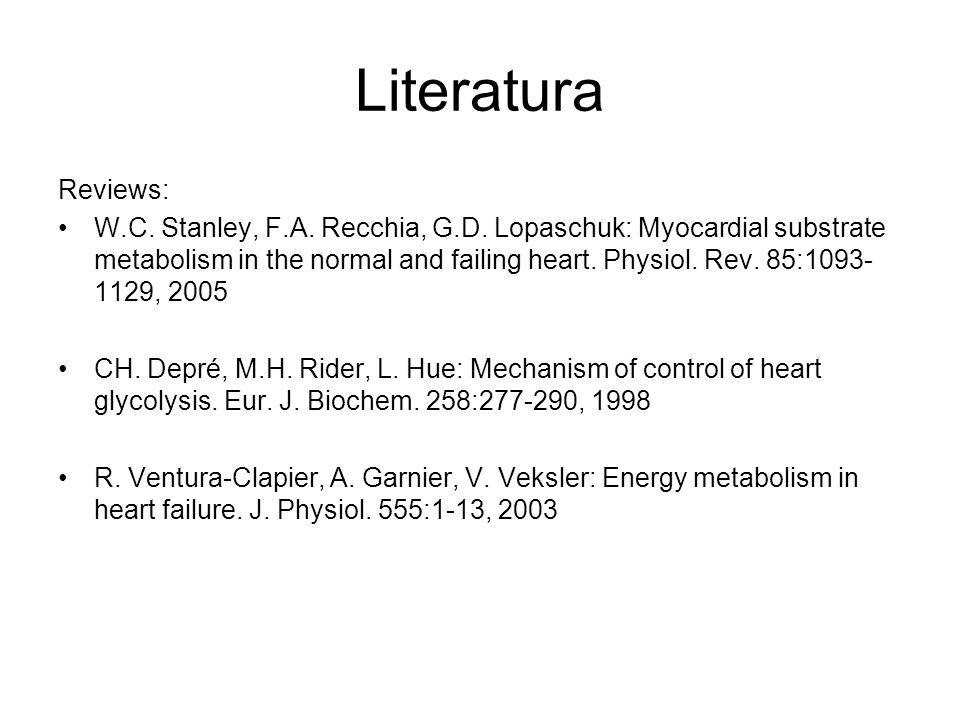 Literatura Reviews: