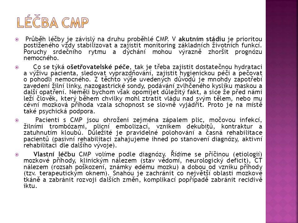 Léčba CMP