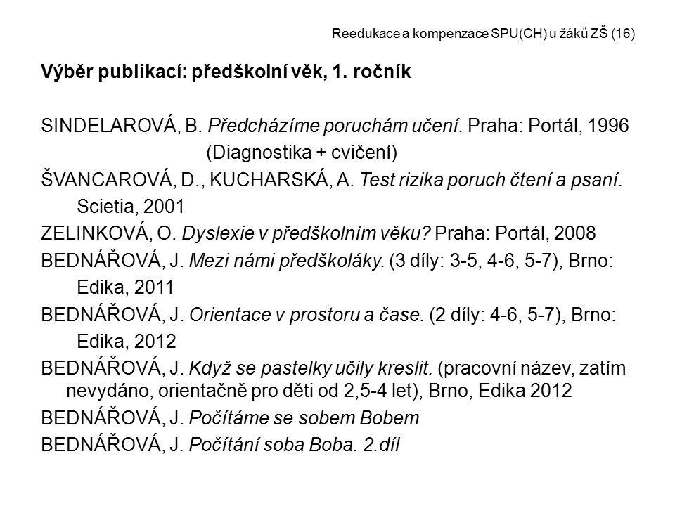 Reedukace a kompenzace SPU(CH) u žáků ZŠ (16)