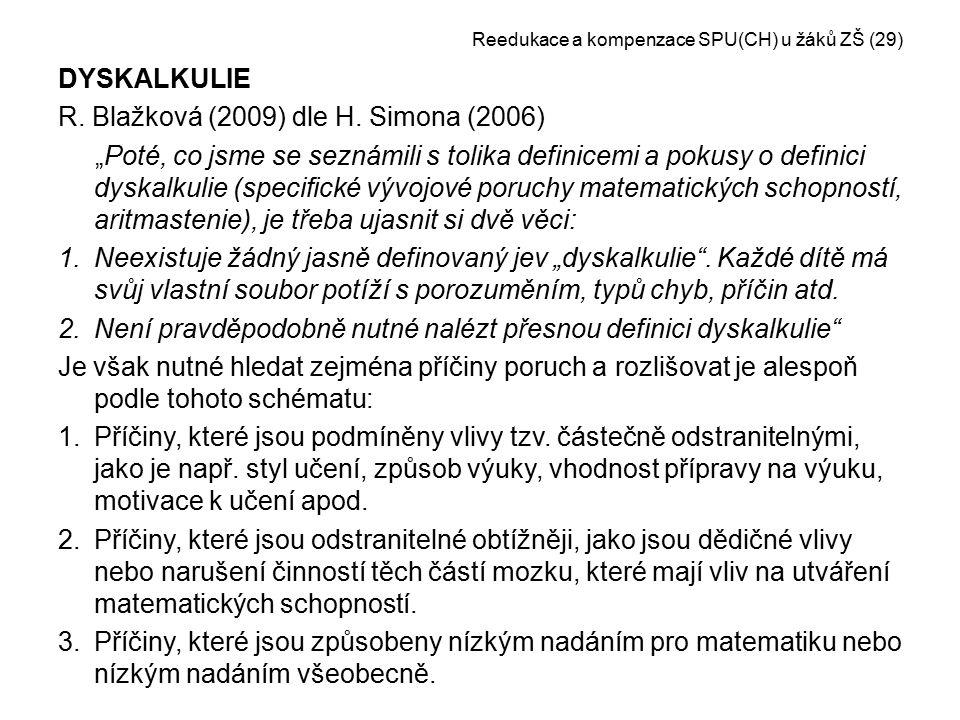 Reedukace a kompenzace SPU(CH) u žáků ZŠ (29)
