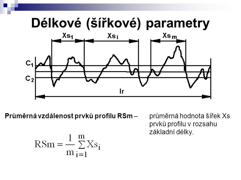 Délkové (šířkové) parametry