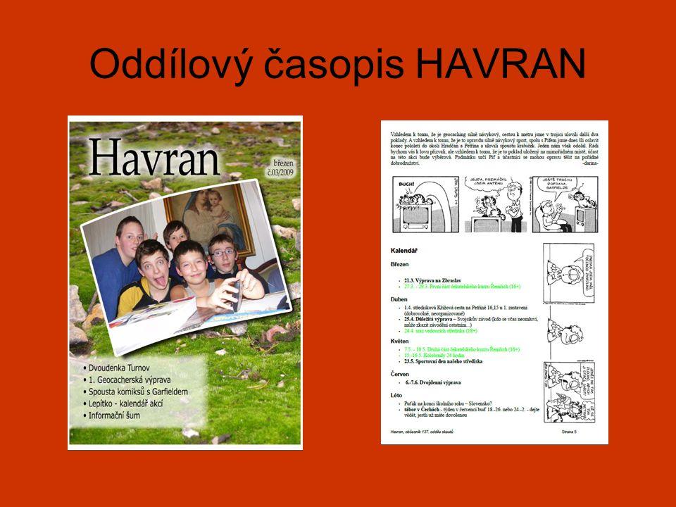 Oddílový časopis HAVRAN