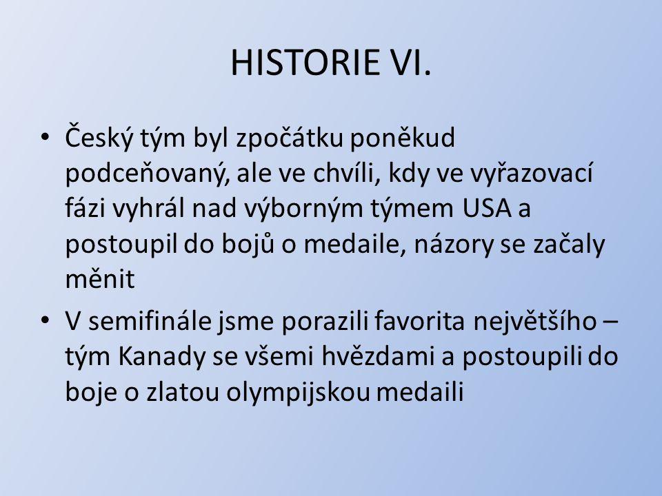 HISTORIE VI.