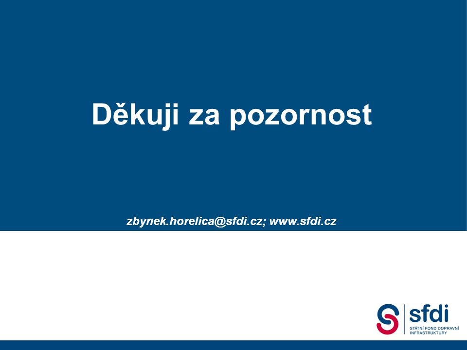 zbynek.horelica@sfdi.cz; www.sfdi.cz