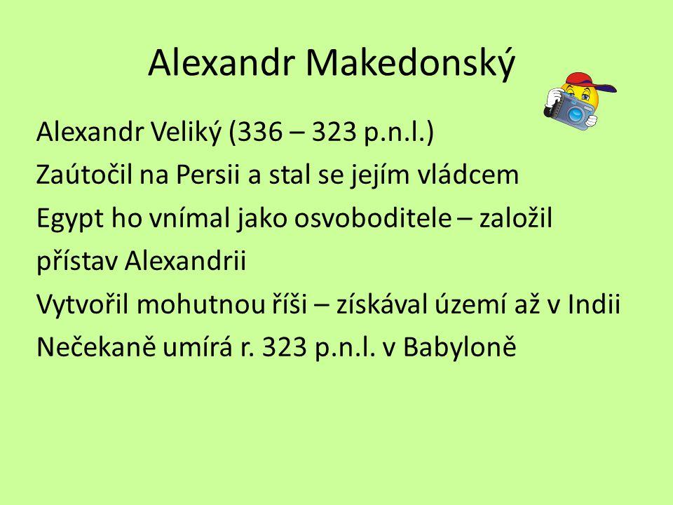 Alexandr Makedonský