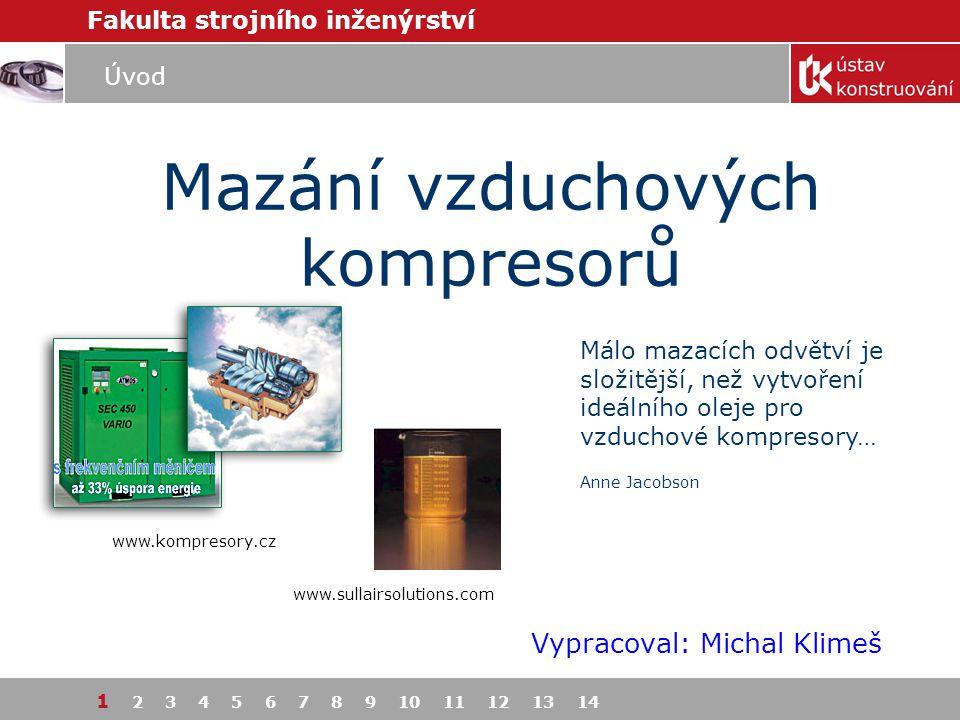 Mazání vzduchových kompresorů
